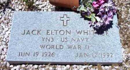 WHITTLE, JACK ELTON - Yavapai County, Arizona | JACK ELTON WHITTLE - Arizona Gravestone Photos