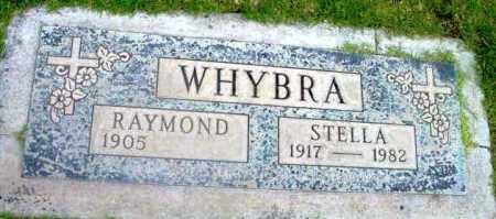 WHYBRA, RAYMOND ROYER - Yavapai County, Arizona   RAYMOND ROYER WHYBRA - Arizona Gravestone Photos