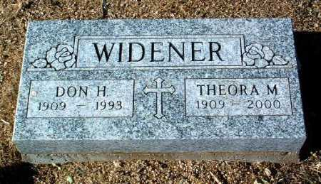 SHIELDS WIDENER, THEORA - Yavapai County, Arizona | THEORA SHIELDS WIDENER - Arizona Gravestone Photos