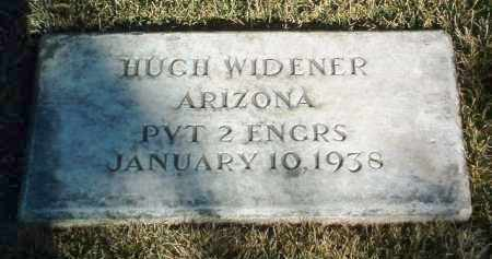 WIDENER, HUGH LEE - Yavapai County, Arizona | HUGH LEE WIDENER - Arizona Gravestone Photos