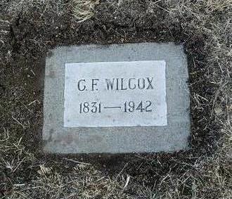 WILCOX, C. F. - Yavapai County, Arizona   C. F. WILCOX - Arizona Gravestone Photos
