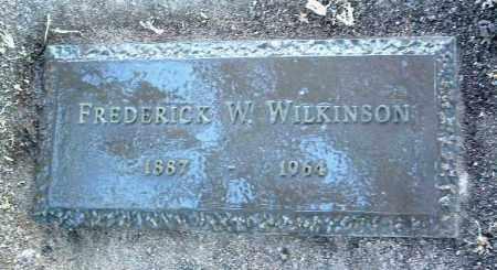 WILKINSON, FREDERICK WM. - Yavapai County, Arizona | FREDERICK WM. WILKINSON - Arizona Gravestone Photos