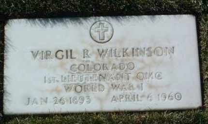 WILKINSON, VIRGIL R. - Yavapai County, Arizona | VIRGIL R. WILKINSON - Arizona Gravestone Photos