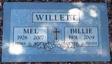 WILLETT, MELVIN HAYS (MEL) - Yavapai County, Arizona   MELVIN HAYS (MEL) WILLETT - Arizona Gravestone Photos