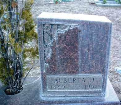 WILLIAMS, ALBERTA J. - Yavapai County, Arizona | ALBERTA J. WILLIAMS - Arizona Gravestone Photos