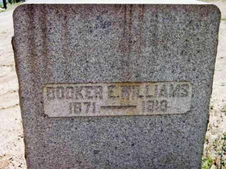 WILLIAMS, BROOKER E. - Yavapai County, Arizona   BROOKER E. WILLIAMS - Arizona Gravestone Photos