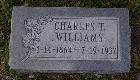 WILLIAMS, CHARLES THOMAS - Yavapai County, Arizona   CHARLES THOMAS WILLIAMS - Arizona Gravestone Photos