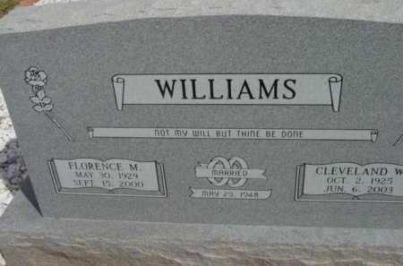 WILLIAMS, CLEVELAND WAYNE - Yavapai County, Arizona   CLEVELAND WAYNE WILLIAMS - Arizona Gravestone Photos