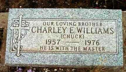 WILLIAMS, CHARLEY E. - Yavapai County, Arizona | CHARLEY E. WILLIAMS - Arizona Gravestone Photos