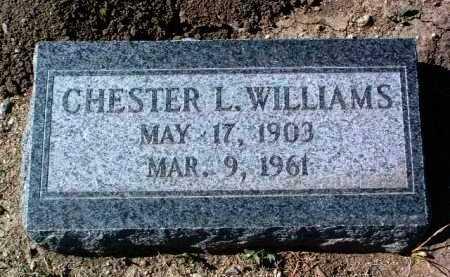 WILLIAMS, CHESTER L. - Yavapai County, Arizona | CHESTER L. WILLIAMS - Arizona Gravestone Photos