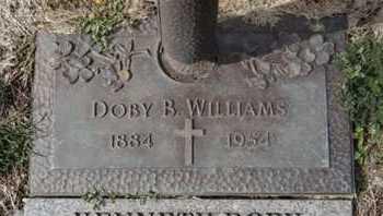 WILLIAMS, DOBY B. - Yavapai County, Arizona   DOBY B. WILLIAMS - Arizona Gravestone Photos