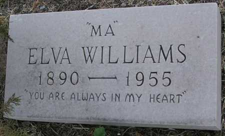 WILLIAMS, ELVA M.  (MA) - Yavapai County, Arizona   ELVA M.  (MA) WILLIAMS - Arizona Gravestone Photos