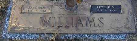 WILLIAMS, FRANK DEAN - Yavapai County, Arizona   FRANK DEAN WILLIAMS - Arizona Gravestone Photos