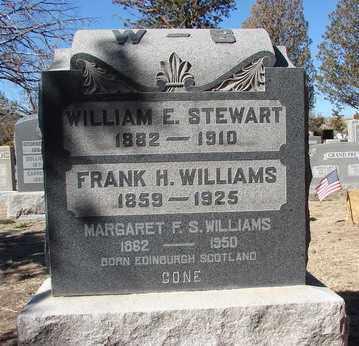 WILLIAMS, FRANK H. - Yavapai County, Arizona | FRANK H. WILLIAMS - Arizona Gravestone Photos