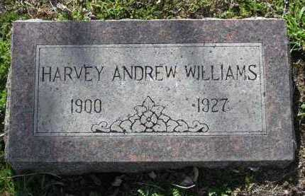 WILLIAMS, HARVEY ANDREW - Yavapai County, Arizona   HARVEY ANDREW WILLIAMS - Arizona Gravestone Photos