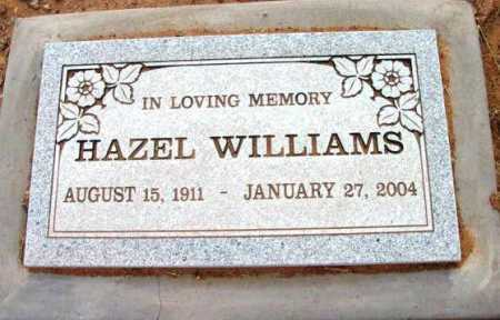 WILLIAMS, HAZEL - Yavapai County, Arizona   HAZEL WILLIAMS - Arizona Gravestone Photos