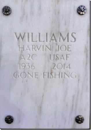 WILLIAMS, HARVIN JOE - Yavapai County, Arizona   HARVIN JOE WILLIAMS - Arizona Gravestone Photos