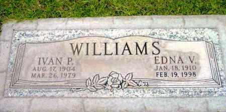 WILLIAMS, EDNA V. - Yavapai County, Arizona | EDNA V. WILLIAMS - Arizona Gravestone Photos