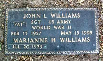 WILLIAMS, MARIANNE H. - Yavapai County, Arizona | MARIANNE H. WILLIAMS - Arizona Gravestone Photos