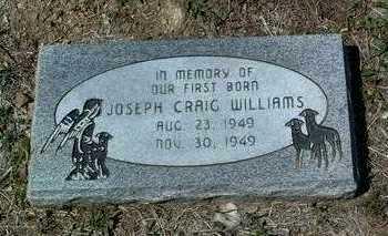 WILLIAMS, JOSEPH CRAIG - Yavapai County, Arizona   JOSEPH CRAIG WILLIAMS - Arizona Gravestone Photos