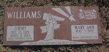 WILLIAMS, JIMMY - Yavapai County, Arizona   JIMMY WILLIAMS - Arizona Gravestone Photos
