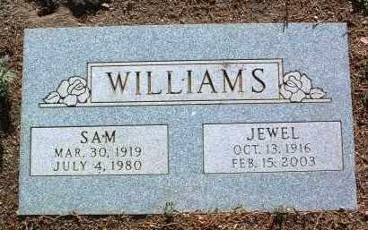 WILLIAMS, JEWEL HINSAN - Yavapai County, Arizona   JEWEL HINSAN WILLIAMS - Arizona Gravestone Photos