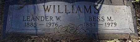 WILLIAMS, LEANDER WILLIE - Yavapai County, Arizona | LEANDER WILLIE WILLIAMS - Arizona Gravestone Photos