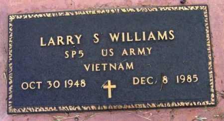 WILLIAMS, LARRY S. - Yavapai County, Arizona   LARRY S. WILLIAMS - Arizona Gravestone Photos