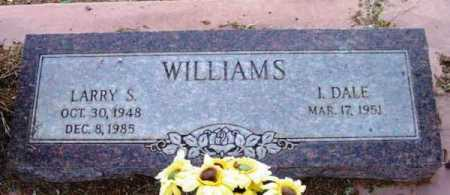 WILLIAMS, I. DALE - Yavapai County, Arizona | I. DALE WILLIAMS - Arizona Gravestone Photos