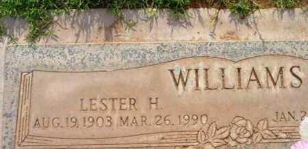 WILLIAMS, LESTER H. - Yavapai County, Arizona | LESTER H. WILLIAMS - Arizona Gravestone Photos
