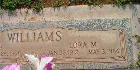 WILLIAMS, LORA MAY - Yavapai County, Arizona   LORA MAY WILLIAMS - Arizona Gravestone Photos