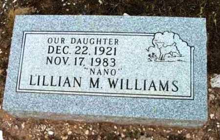 WILLIAMS, LILLIAN MAY - Yavapai County, Arizona   LILLIAN MAY WILLIAMS - Arizona Gravestone Photos