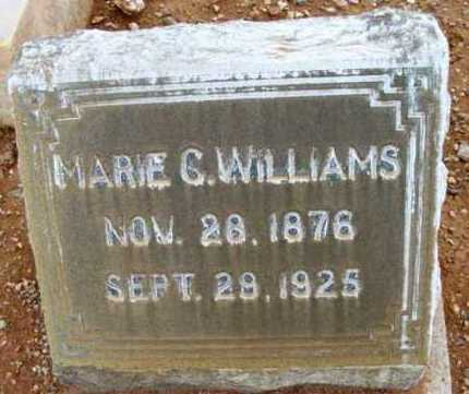 WILLIAMS, MARIE CAROLINE - Yavapai County, Arizona | MARIE CAROLINE WILLIAMS - Arizona Gravestone Photos