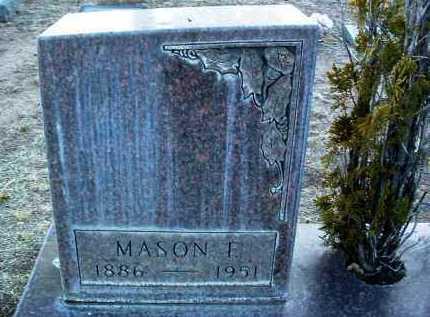 WILLIAMS, MASON FOSTER - Yavapai County, Arizona | MASON FOSTER WILLIAMS - Arizona Gravestone Photos