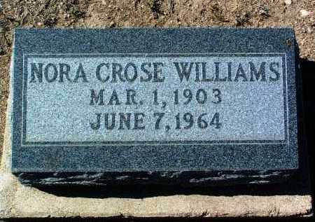 WILLIAMS, NORA LOUISE - Yavapai County, Arizona | NORA LOUISE WILLIAMS - Arizona Gravestone Photos