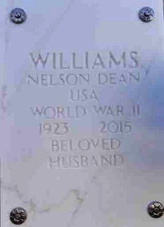 WILLIAMS, NELSON DEAN - Yavapai County, Arizona | NELSON DEAN WILLIAMS - Arizona Gravestone Photos