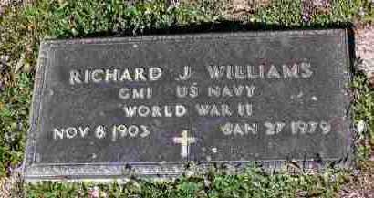 WILLIAMS, RICHARD JAMES - Yavapai County, Arizona | RICHARD JAMES WILLIAMS - Arizona Gravestone Photos