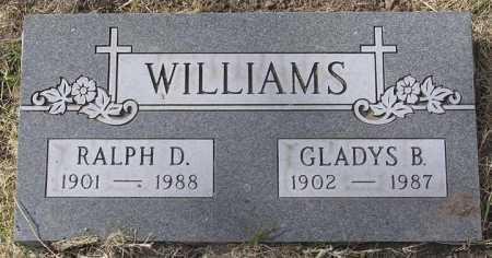 WILLIAMS, RALPH D. - Yavapai County, Arizona   RALPH D. WILLIAMS - Arizona Gravestone Photos