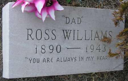 WILLIAMS, ROSS - Yavapai County, Arizona | ROSS WILLIAMS - Arizona Gravestone Photos