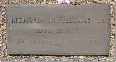 WILLIAMS, RICHARD JAMES - Yavapai County, Arizona   RICHARD JAMES WILLIAMS - Arizona Gravestone Photos