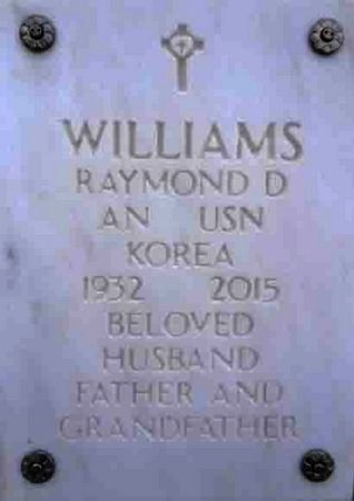 WILLIAMS, RAYMOND D. - Yavapai County, Arizona | RAYMOND D. WILLIAMS - Arizona Gravestone Photos