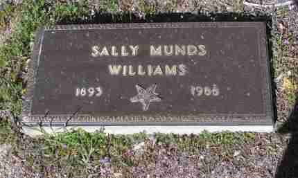 WILLIAMS, SALLY GRACE - Yavapai County, Arizona | SALLY GRACE WILLIAMS - Arizona Gravestone Photos