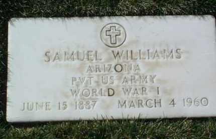 WILLIAMS, SAMUEL - Yavapai County, Arizona | SAMUEL WILLIAMS - Arizona Gravestone Photos