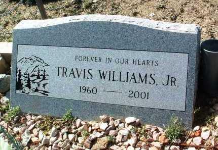 WILLIAMS, TRAVIS A., JR. - Yavapai County, Arizona | TRAVIS A., JR. WILLIAMS - Arizona Gravestone Photos
