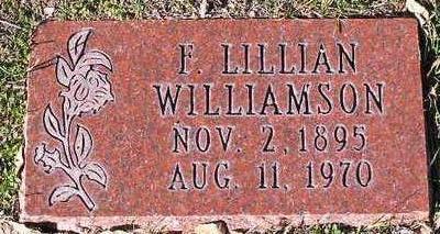 WILLIAMSON, FRANCES - Yavapai County, Arizona | FRANCES WILLIAMSON - Arizona Gravestone Photos