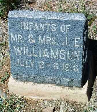 WILLIAMSON, INFANT FEMALE - Yavapai County, Arizona | INFANT FEMALE WILLIAMSON - Arizona Gravestone Photos