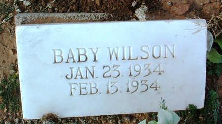WILSON, BABY - Yavapai County, Arizona | BABY WILSON - Arizona Gravestone Photos