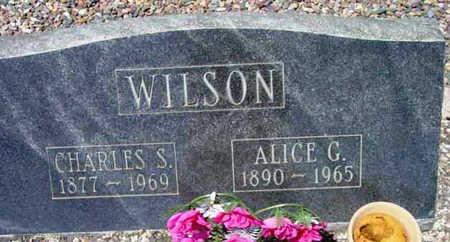 ALLEN WILSON, ALICE G - Yavapai County, Arizona | ALICE G ALLEN WILSON - Arizona Gravestone Photos