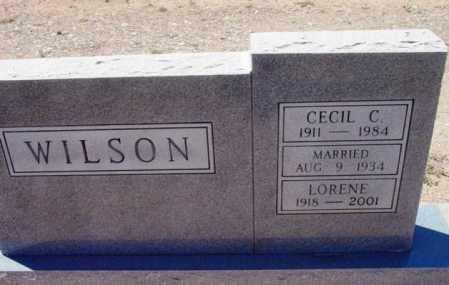 WILSON, CECIL C. - Yavapai County, Arizona | CECIL C. WILSON - Arizona Gravestone Photos