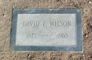 WILSON, DAVID FREDERICK - Yavapai County, Arizona | DAVID FREDERICK WILSON - Arizona Gravestone Photos